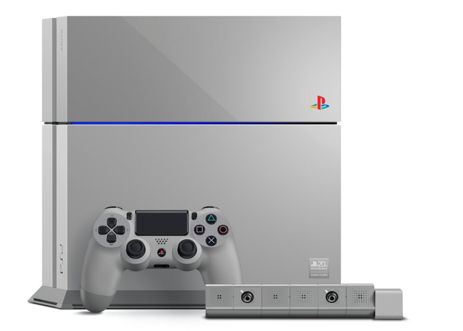 sony computer entertainment celebrates 20th anniversary with ps one inspired limited edition ps4. Black Bedroom Furniture Sets. Home Design Ideas